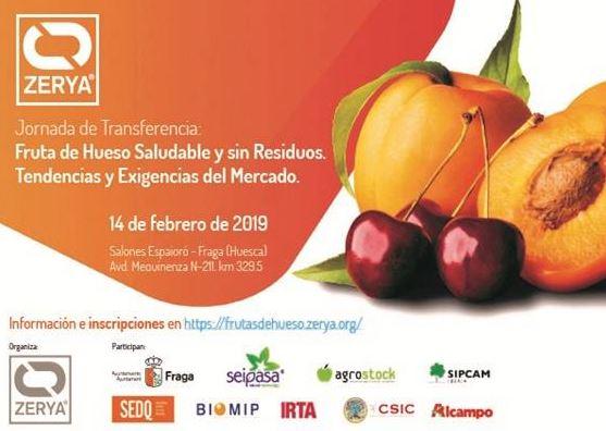Jornada sobre Fruta de Hueso Saludable y Sin Residuos