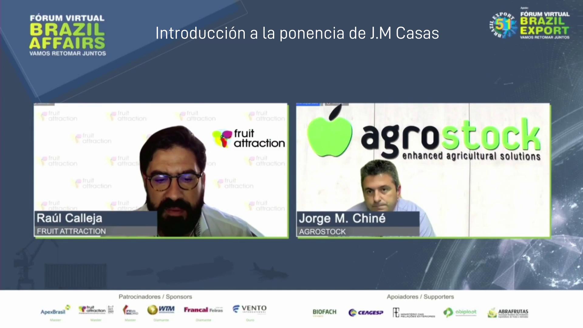 Jorge M. Casas realizó una ponencia en el foro virtual Brazil Affairs